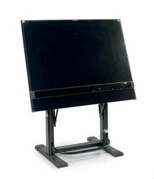 Bieffe Drafting Table An Ebonized Drafting Table By Bieffe Contemporary Christie S