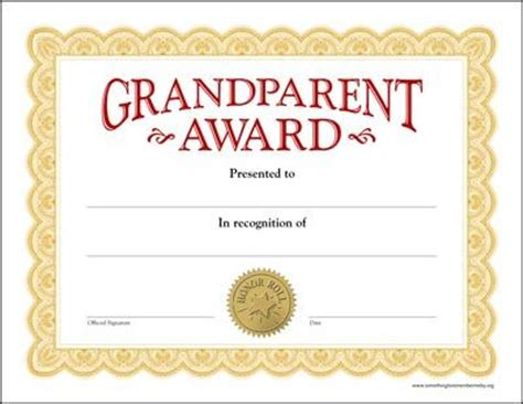 grandparents day template grandparents day printables more certificates
