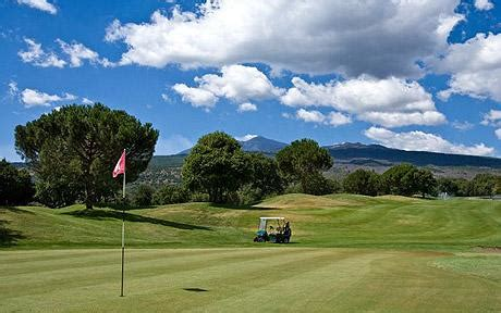sicily swing sicily golf in the shadow of mt etna telegraph