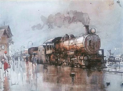 pin de john hassemer en  johnnys en  watercolor art