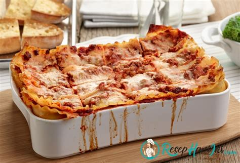 membuat pizza ala pizza hut cara membuat lasagna ala pizza hut masakan italy lezat