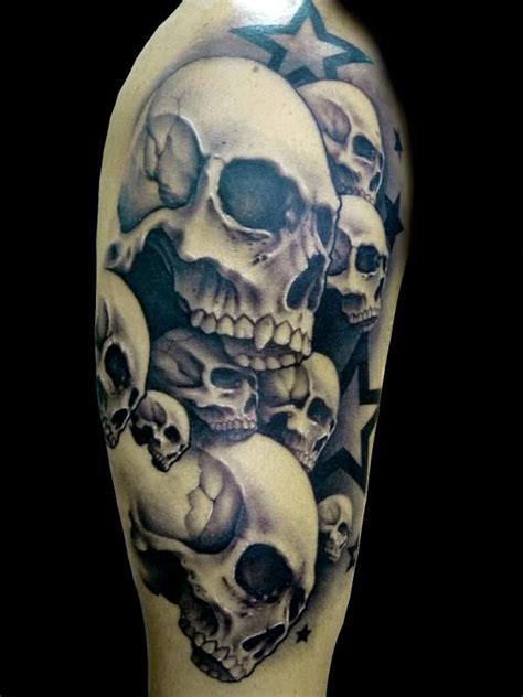 skull and star tattoo designs tattoos and designs page 162