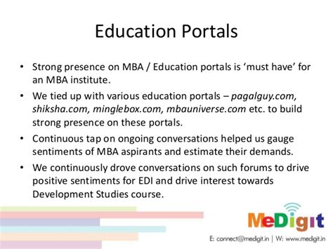 Must For Mba Aspirants by Marketing Study Education Institute