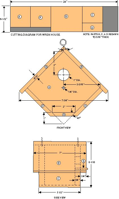 simple bird house plans things you should know about choosing diy birdhouse plans