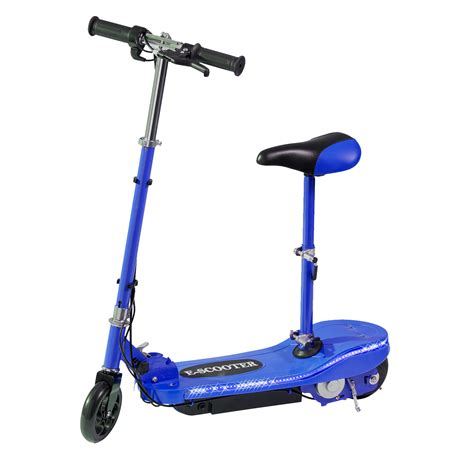 light blue electric scooter blue led electric scooter eskoot electric scooter free