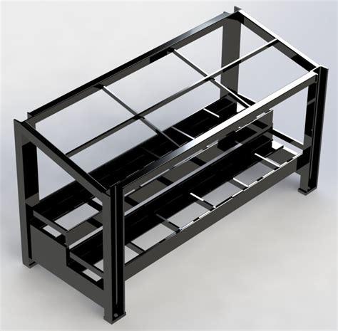 Battery Rack by Seismic Battery Rack