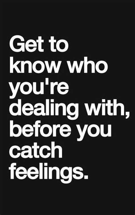 Funny Catching Feelings Quotes