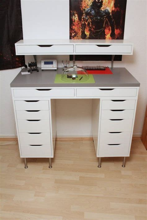 target desk hack 20 best images about storage craft room alex drawers