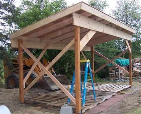 Constructing A Shed by Firewood Shed Plans 4 Important Tips When Building A