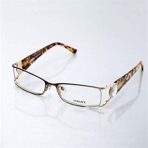 Versace Circle Rosegold image detail for replica versace women s eyeglasses in