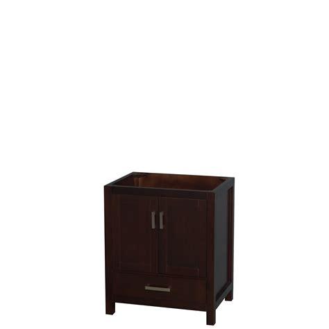 30 espresso bathroom vanity accmilan 30 inch transitional espresso bathroom vanity set deep doweled drawers