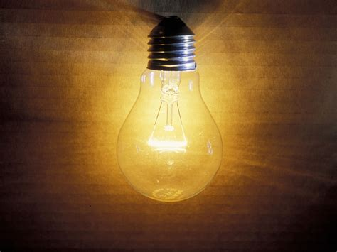 Light Bulb Brightness by Fashioned Light Bulbs Could Be Set For Comeback After