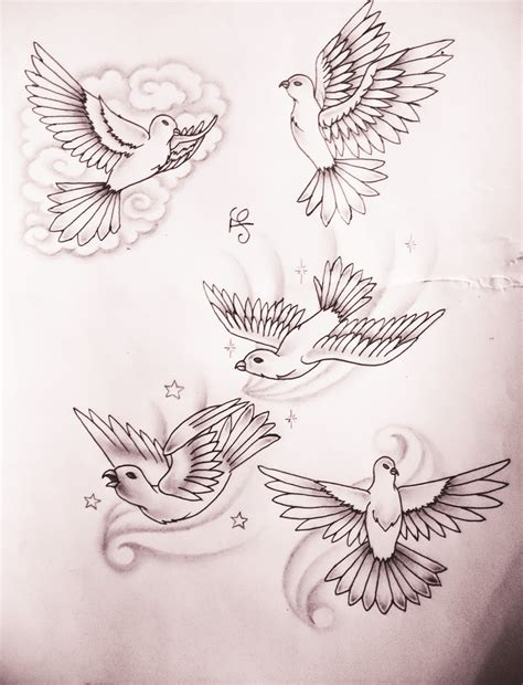dove in clouds tattoo designs dove stencils images for tatouage