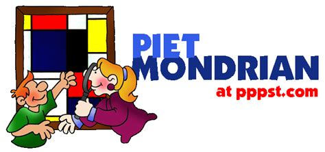 free powerpoint presentations about piet mondrian for kids