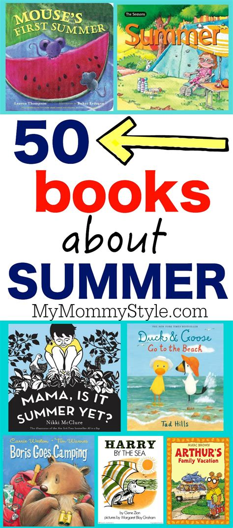 my summer in books 50 picture books about summer my style