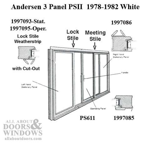Andersen Perma Shield Gliding Door Weather 3