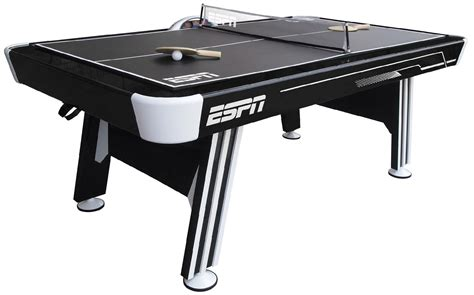 espn air hockey table air hockey table tennis top espn ping pong combo pool