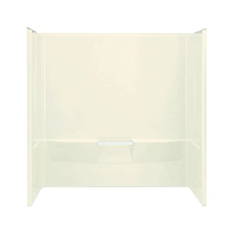 wall surrounds for bathtubs sterling performa 30 in x 60 in x 59 1 4 in 3 piece