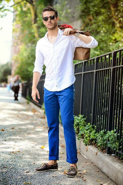 boat shoes and dress pants 22 stylish men outfits with sperry shoes styleoholic