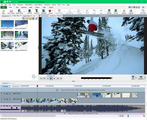 videopad video editor download videopad video editing software screenshots