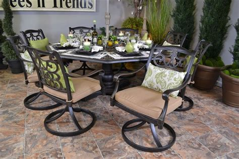 hanamint chateau octagon table 1000 images about pretty patio on stains