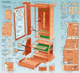 Free Blueprints by Pdf Plans Free Gun Cabinet Designs Download Fine