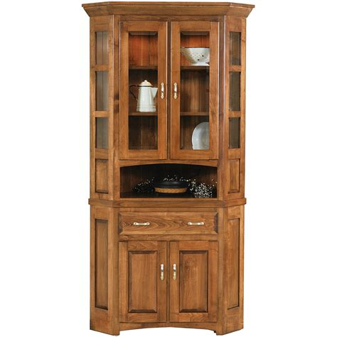 corner wall china cabinet corner buffet cabinet sierra living concepts pioneer