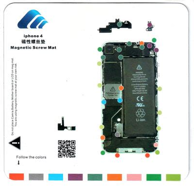 iphone 4 magnetic mat magnetic mat iphone 4 4g