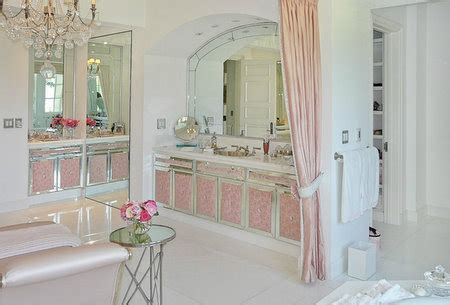 Vanderpump Bathroom - beautiful interiors and 18th century style