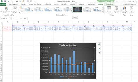 layout grafico excel 2013 modelos de gr 225 ficos no excel 2013 ganhando produtividade
