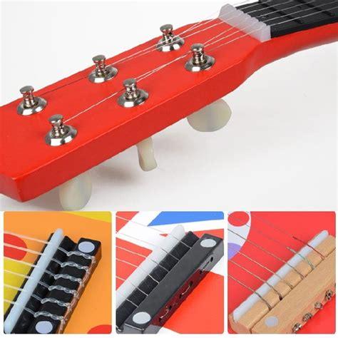 Kalung Pasangan Mini Plat Guitar efhh 21 inch wooden children guitar toys can play a beginner mini guitar