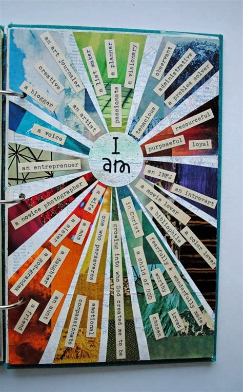 project collage template design projects all about me craft quot i am quot awesome results the