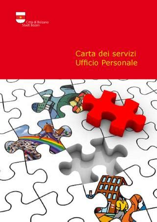 comune di ufficio personale carta dei servizi ufficio personale by redazione ufficio