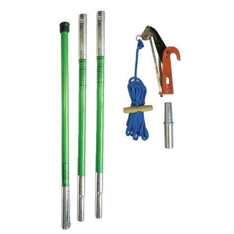 home depot pole ls landscaper ph 11 pruner package with three 6 ft