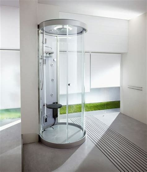 las cabinas de ducha excelente opcion  decorar banos pequenos arquigrafico