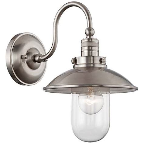 Edison Light Sconce by Downtown Edison Collection 13 Quot High Brushed Nickel Sconce
