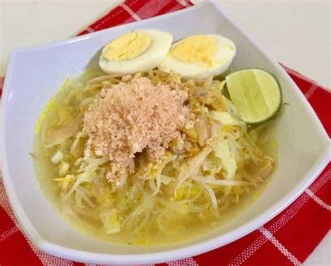 resep membuat soto ayam jawa timur resep soto lamongan ayam kung bumbu asli jawa timur