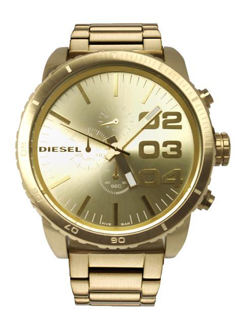 diesel dz4268 51 gold tone chronograph