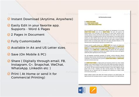 memo to staff template 17 memo templates pdf docs word