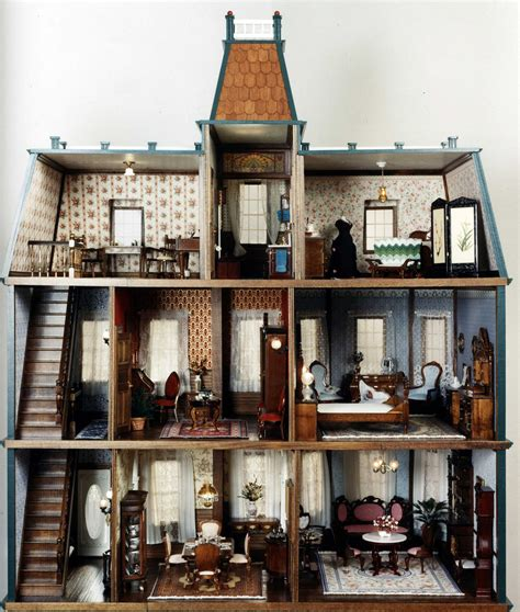 Armchair Design by Victorian Dollhouses Malcolm Forbes Dollhouse