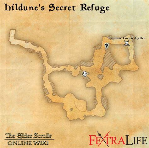 hildune s secret refuge elder scrolls wiki