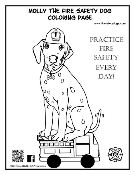 Fire Safety Coloring Pages Fire Safety Month Coloring Sparky The Coloring Pages