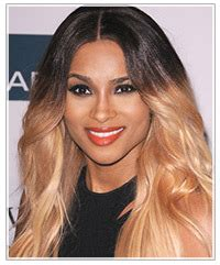 blonde ombre feathered styles for african americans hairstyle evolution ciara s ombr 233 color