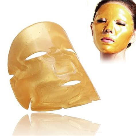 5pcs skin care mask moisturizing firming mask gold bio collagen gold