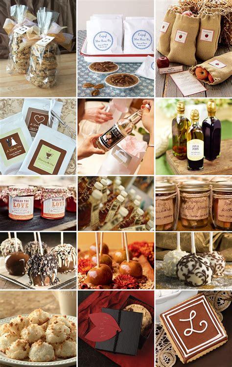 fall wedding favor ideas also another idea green