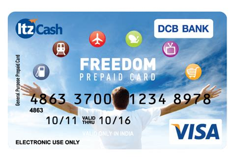 Hdfc Gift Card For Online Shopping - the itzcash dcb bank multi purpose reloadable prepaid card
