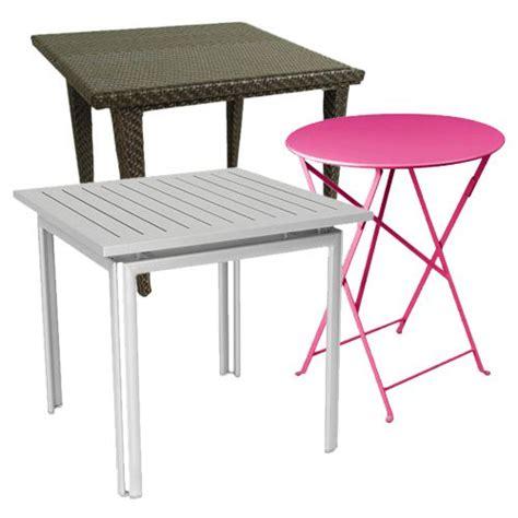 mesas para jardin de plastico muebles de exterior fiberland