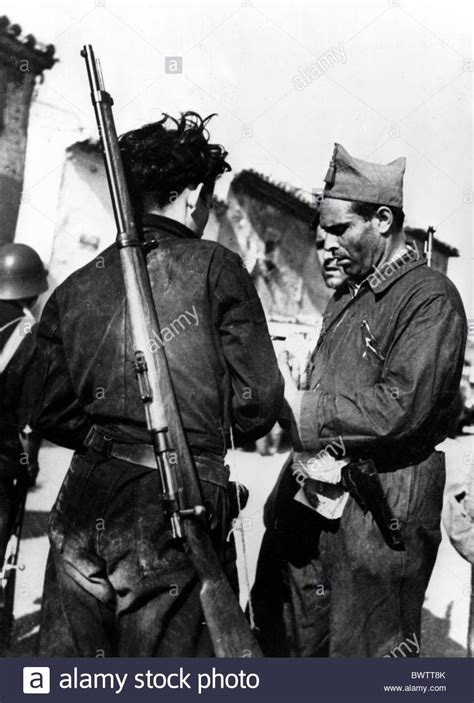 the spanish civil war 1841763691 anarchist buenaventura durruti saragossa 1936 spanish civil war spain stock photo royalty free