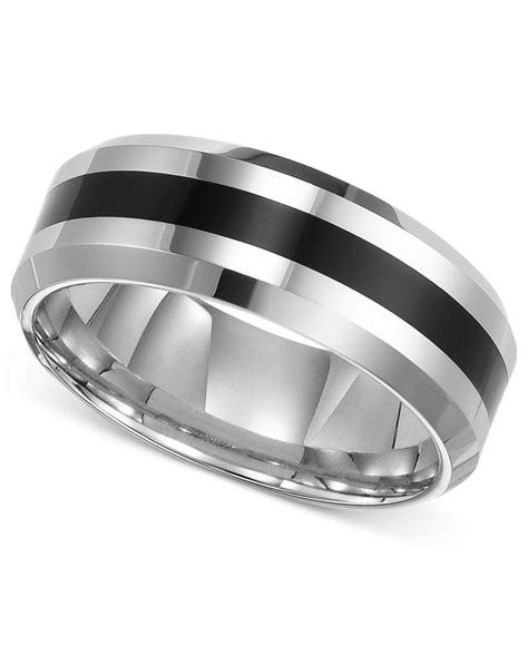 comfort fit tungsten wedding bands triton men s tungsten carbide ring comfort fit wedding