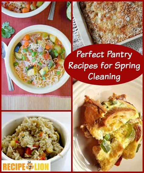 Pantry Recipes cleaning tips part ii pantry recipes